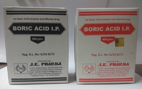 Boric Acid Powder For Personal Packaging Type Box