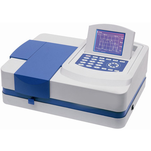 UV Vis Spectrophotometer Double Beam, Industrial Use, Laboratory
