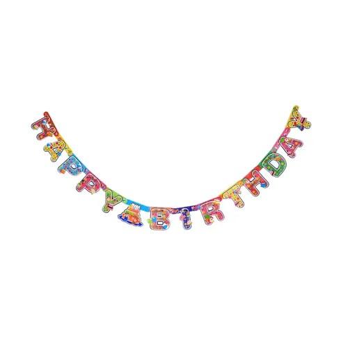 Birthday Letter Banner, Birthday Banner, Birthday Crowns, Birthday