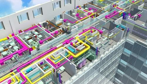 HVAC DUCT Shop Drawings Services Silicon Valley in Thaltej