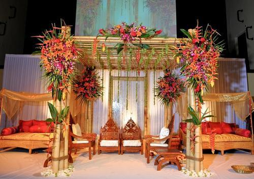 Wholesale Vendors For Home Decor Bamboo Marriage Mandap For For Wedding Rs 50000 Number