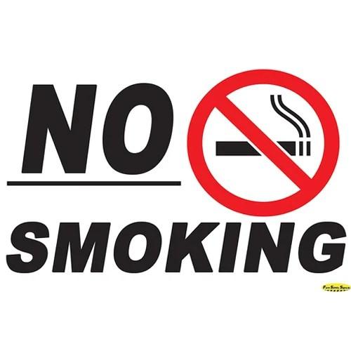 No Smoking Sign Board, Safety Sign Board - Swayam Enterprises