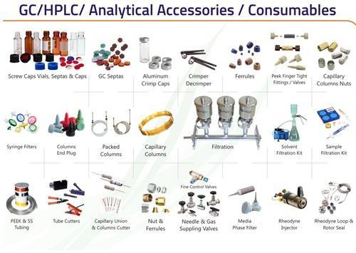 HPLC Consumables, Laboratory Use, Rs 1200 /unit, Athena Technology