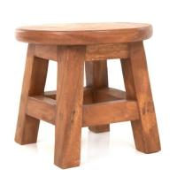 White Designer Wooden Stool, Rs 2850 /set, Designs Craft ...