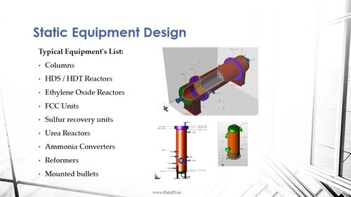 Static Equipment Design, Pressure Vessel Design in Vesu, Surat, Rahi