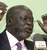 Dr John Garang (Photo: The London Evening Post)