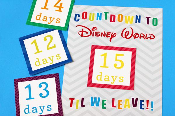 Countdown to Disney Calendar \u2014 505 Design, Inc