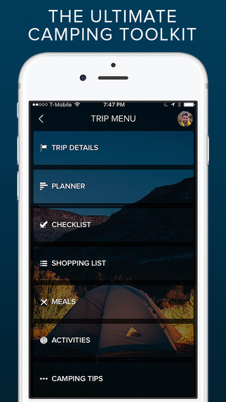 Road Trip Planning Apps - 50 Campfires