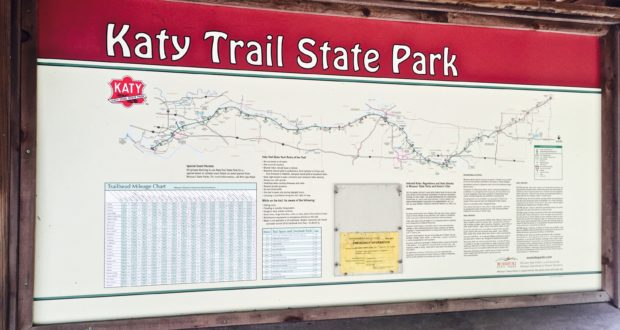 The Best Katy Trail Map To Plan Your Trip - 50 Campfires