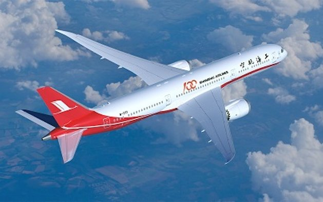 Boeing Delivers First 787 Dreamliner For Shanghai Airlines