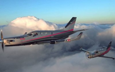 Daher rolls-out the 200th TBM 900-series very fast turboprop aircraft.