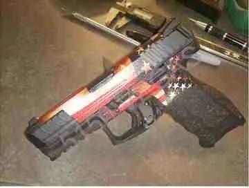 Hk Vp 9 Custom Gun Wrap High Caliber Graphix