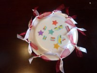 Day 5 (5761-7200m): Paper Plate Tambourine | 525/600: