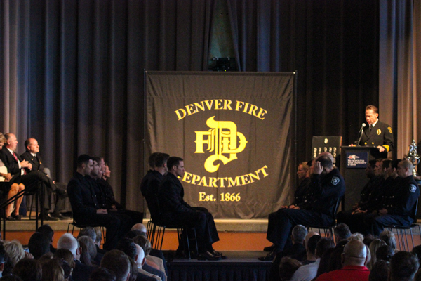 Tivoli Turnhalle Map Denver Fire Class 18-02 Graduation Ceremony - 5280fire