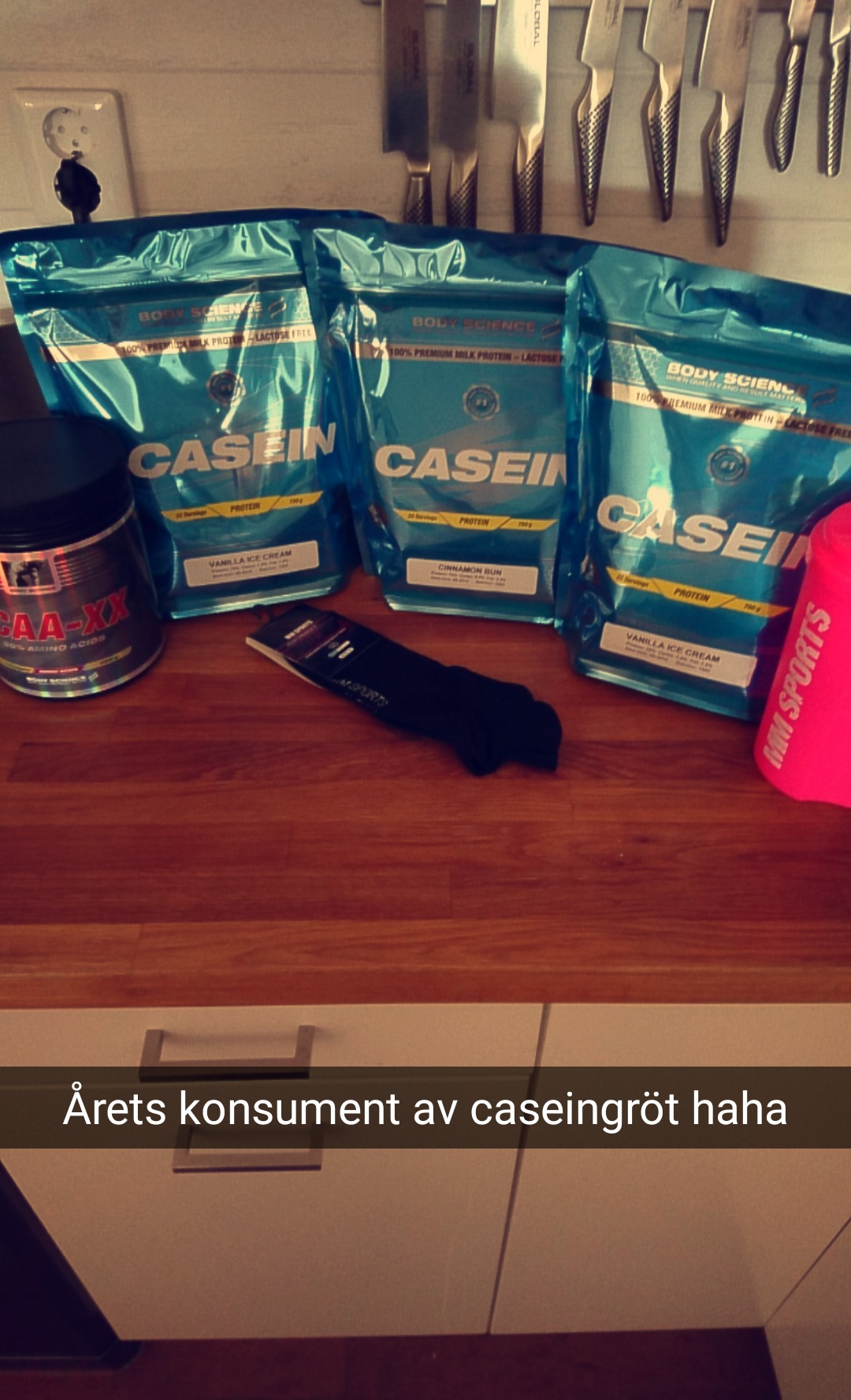 body science casein recension
