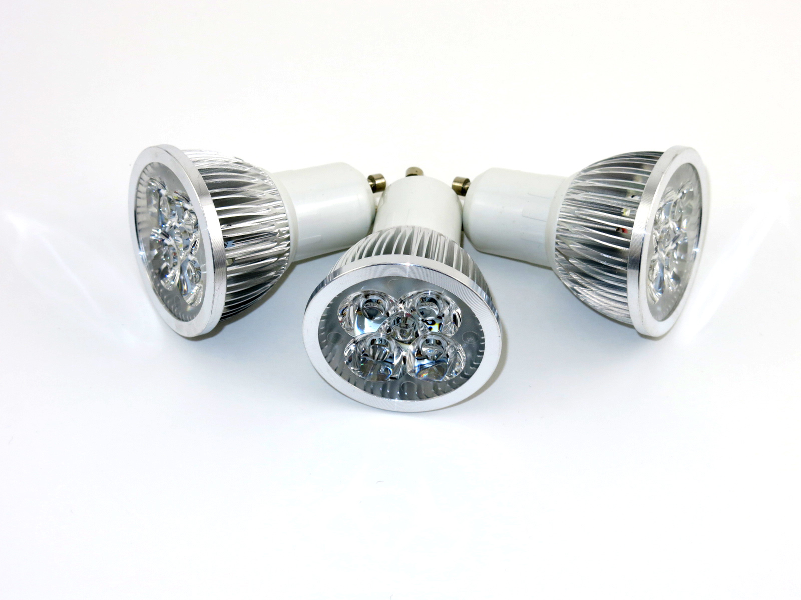 Gu10 Led 4w Gu10 Led Bulb Ac85 265v Cold White 60 Degree Beam