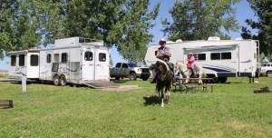 JIM AND JOYCE HORSE COUPLE NEB