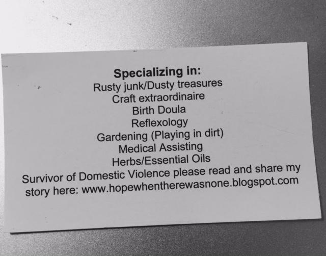 melinda business card