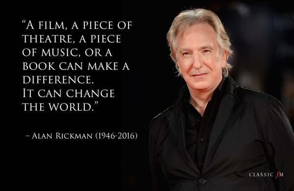 Severus Snape Wallpaper Quotes 12 Perfect Alan Rickman Quotes To Put A Smile On Your Face