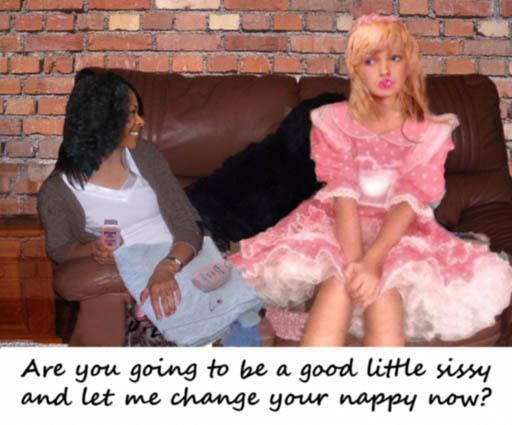 tumblr diaper sissy domination captions