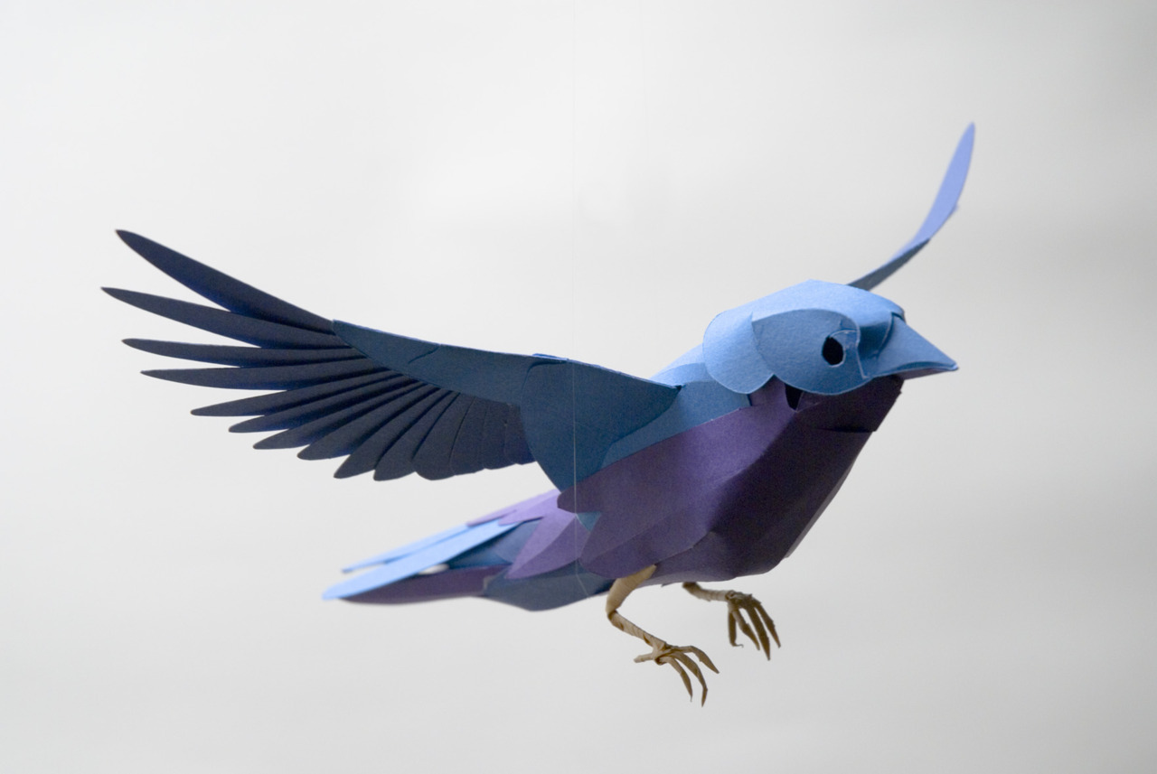 Paper Bird Sculpture 22 Ways We See Bids In Art Artofdarkness Co