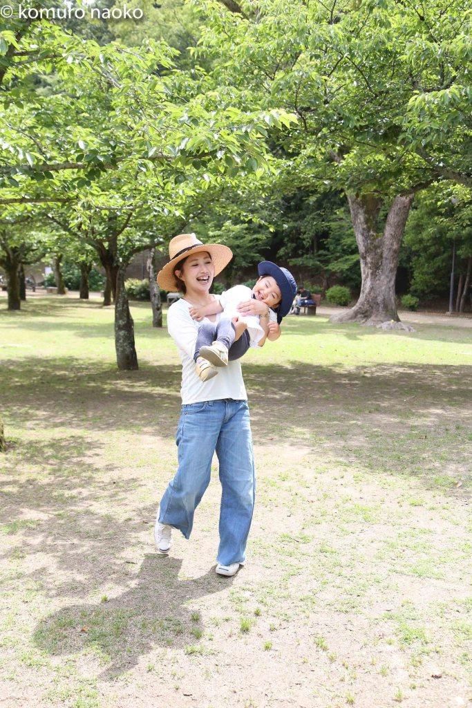 道後公園家族写真撮影会こむの木