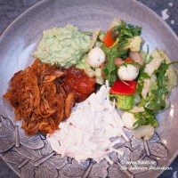 Pulled Chicken LCHF