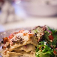 Lasagne a la Chicken Alfredo LCHF / Low carb