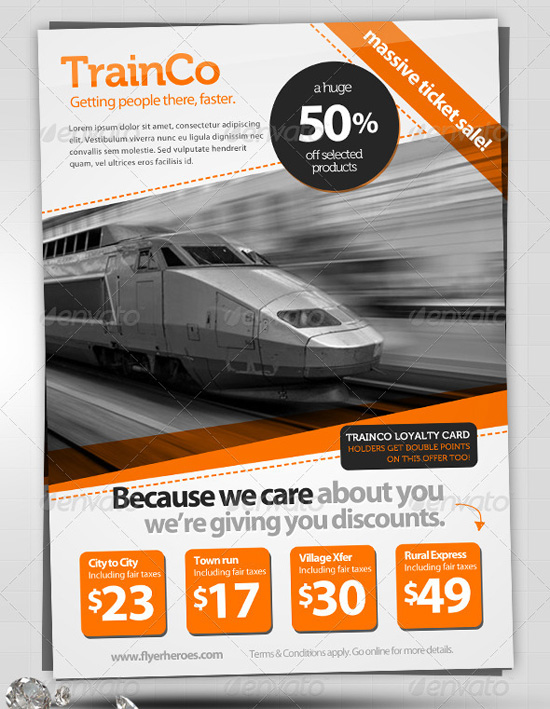 Top Corporate / Business Flyer Templates - 56pixels