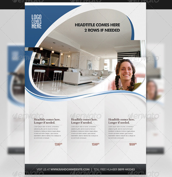 Top Corporate / Business Flyer Templates - 56pixels - advertising flyers templates free