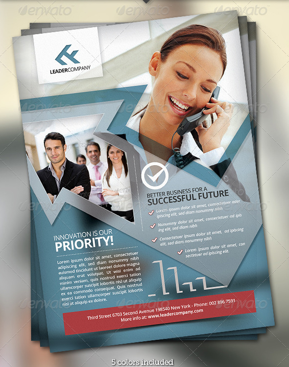 Best Corporate and Business Flyer Template 56pixels - corporate flyer template
