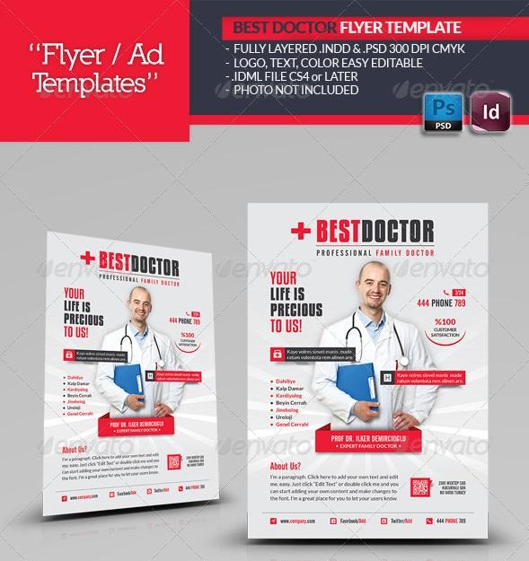 Fantastic InDesign Flyer Templates 56pixels - advertising flyer template