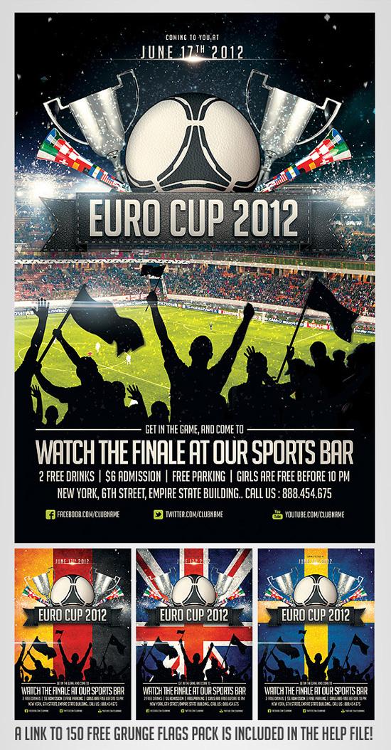 Top 20 Soccer / Football Flyer Templates - 56pixels