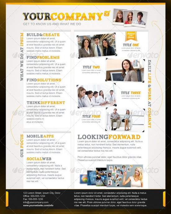 20 Professional Flyer Templates for Multi Purpose Business - flyers for a business
