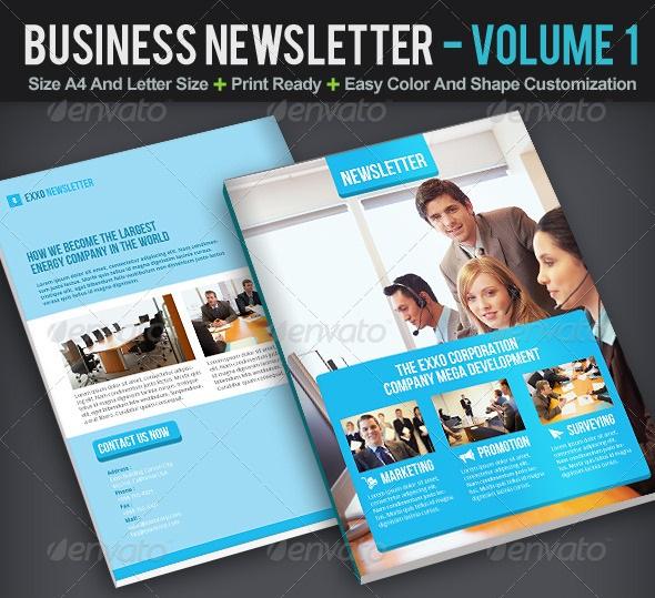 Best Newsletter Design for Print - 56pixels