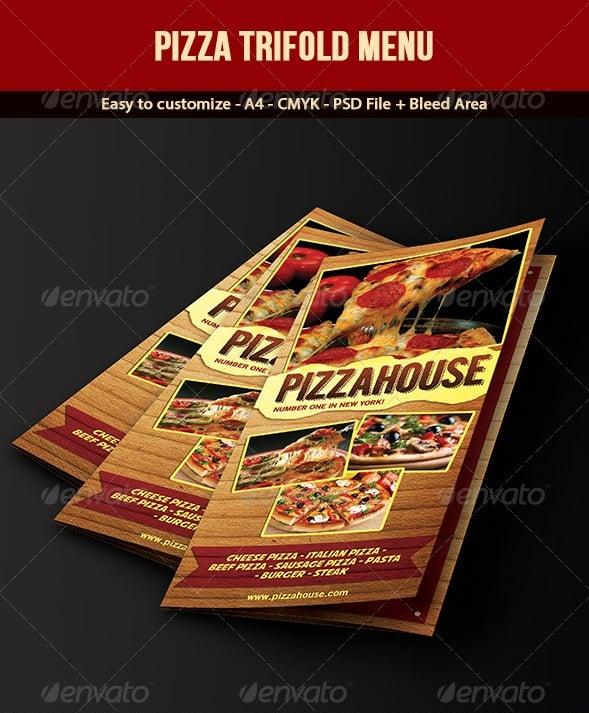 Sample Pizza Menu Template cvfreepro - Sample Pizza Menu Template