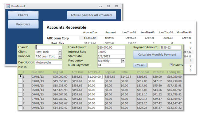 Microsoft Access Loan Amortization Seminar 599CD-excel-forum