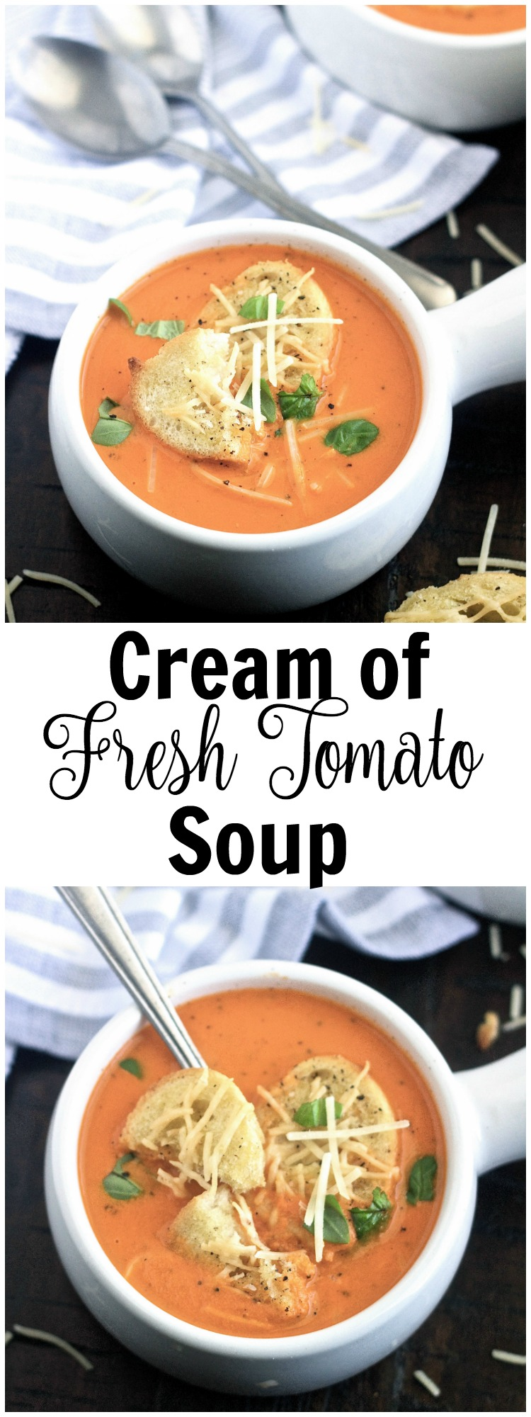 Cream Of Fresh Tomato Soup 5 Boys Baker