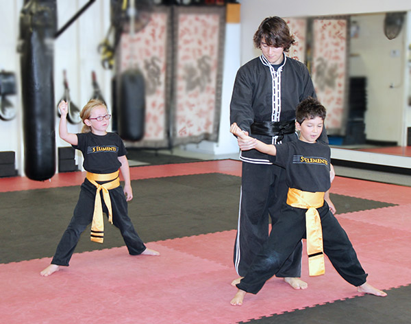 Instructor Nick at 5 Elements Martial Arts San Diego