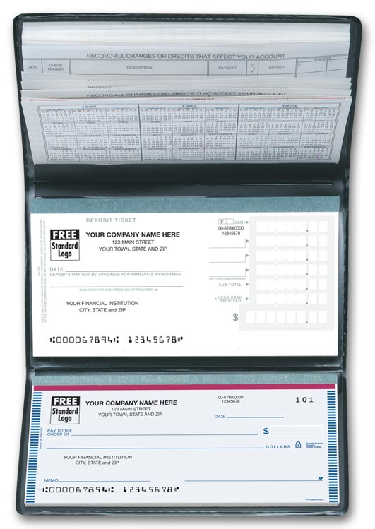 51177N Personal Size Check Register 6 x 3\