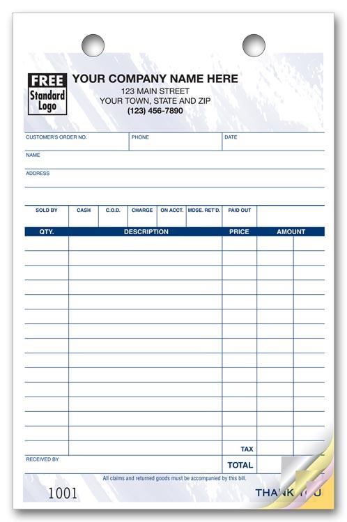 610T Multi Purpose Register Forms Colors Design Large Format 5 1/2