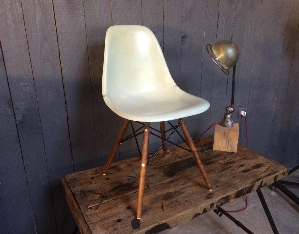 Chaise Eames Dsw Originale Véritable Chaise Dsw Eames Originale