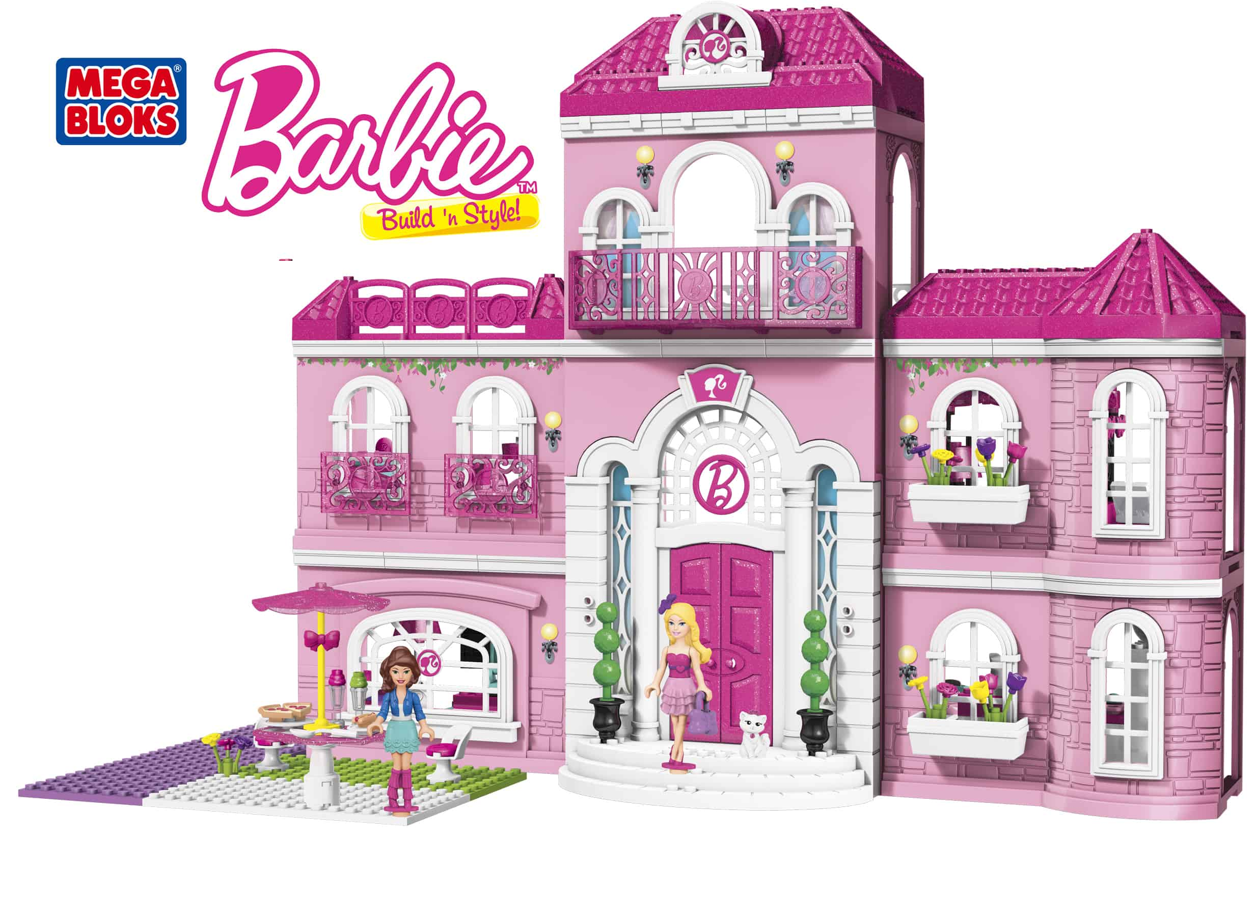 Barbie House Design Mega Bloks Barbie Build 39n Style Luxury Mansion Review