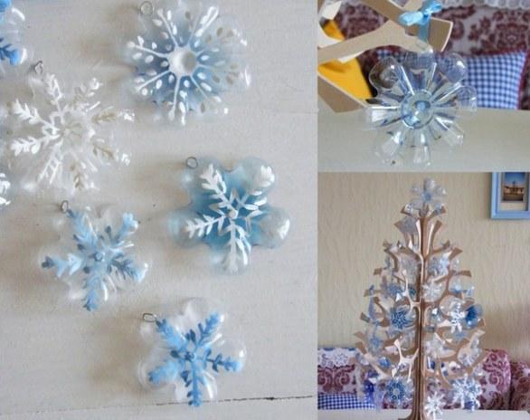 L albero di natale con le bottiglie di plastica 5 idee - Idee per decorare l albero ...