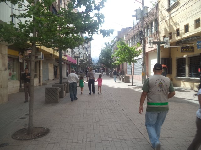 Roaming the streets of Tegucigalpa - the capital,of Honduras.