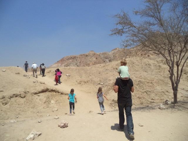 Trek to Sipan ruins