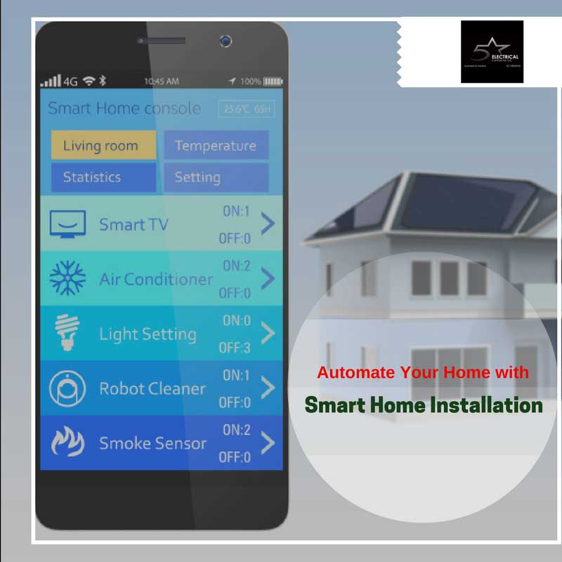 Smart Home Installation Automate Your Home With Smart Home Installation | 5 Star