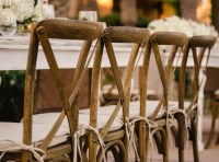Cross Back Wood Chairs - Party and Wedding Rentals for ...
