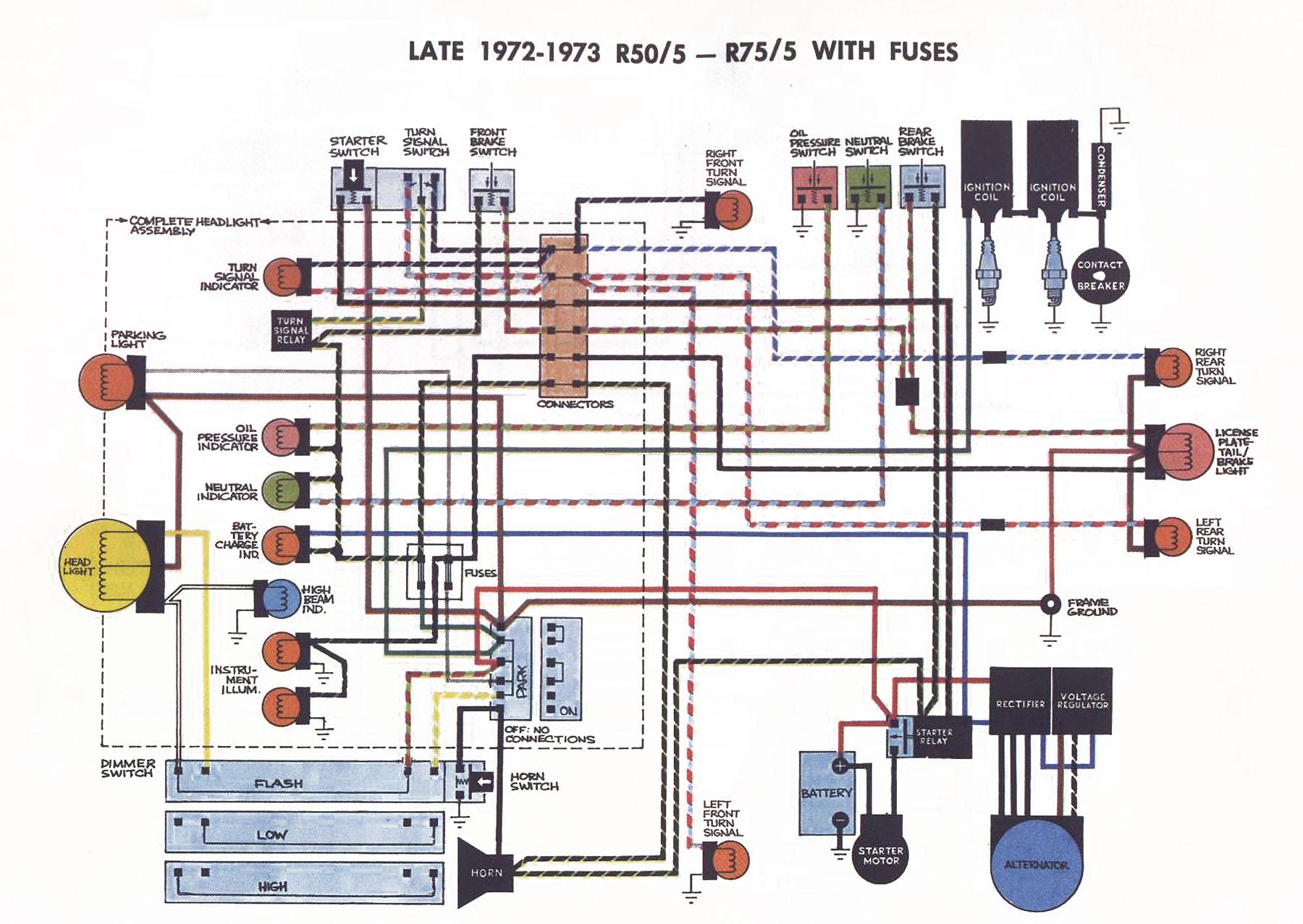 bmw airhead wiring diagram