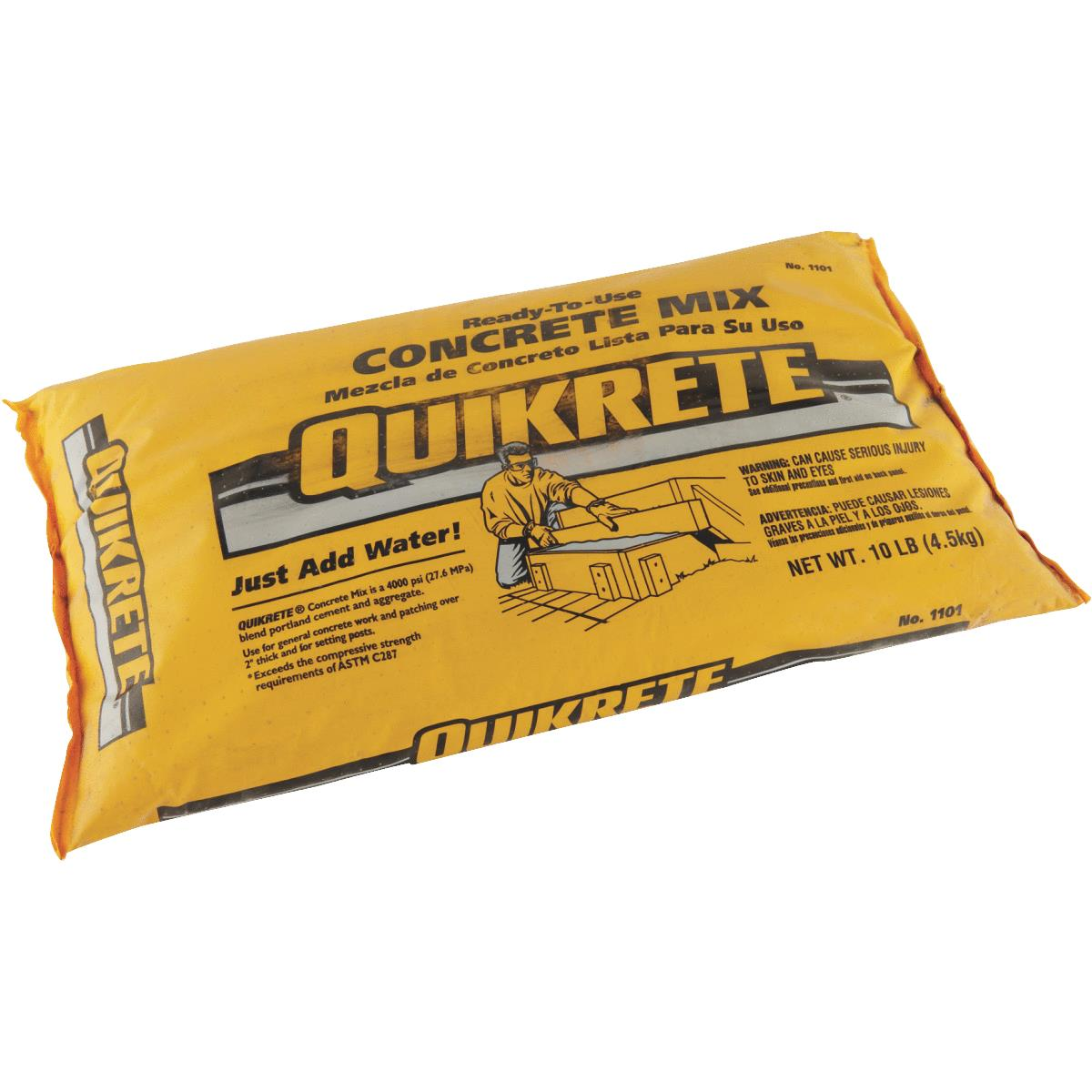 Quikrete 10 Lb Ready To Use Concrete Mix Gilfillan S